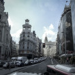 Gran Via, street in Madrid, capital of Spain, Europe. — Stock Photo #35179725