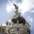 Stock Photo: Metropolis building, Image of city of Madrid