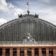 Atocha train station, Image of the city of Madrid — Stock Photo