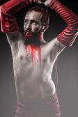 Vampir adam — Stok fotoğraf