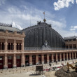 Atocha train station in Madrid, Spain — Stock Photo #38395379