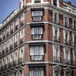 Gran via, Madrid, Spain — Stock Photo