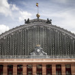 Atocha train station in Madrid, Spain — Stock Photo #38395731