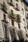 Rua de madrid, espanha — Foto Stock