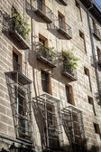 Street i madrid, spanien — Stockfoto