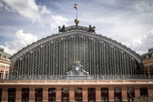 Atocha train station in Madrid, Spain — Stok fotoğraf