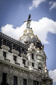 Bank in Madrid, Spain — Stock Photo