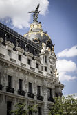 Bank in Madrid — Stok fotoğraf