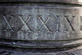 Roman numbers — Stock Photo