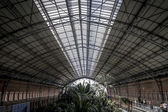 Atocha train station — Stock Photo