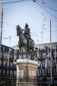 Plaza Mayor, Image of the city of Madrid — Stock Photo