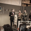 Presentation at FITUR 2014 the first international festival of I — Foto de Stock
