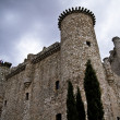 Stock Photo: Torijas Castle in Spain