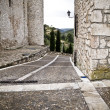 Stock Photo: Torijas Castle in Spain , street