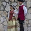 Stock Photo: Spanish classical and popular dance