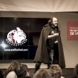 Presentation at FITUR 2014 The first international festival of Iberian wolf — Stock Photo #39728585