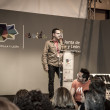 Stock Photo: Presentation at FITUR 2014 The first international festival of Iberian wolf