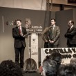 Presentation at FITUR 2014 The first international festival of Iberian wolf — Stock Photo #39728653