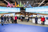 International Tourism Fair, Madrid, Spain. FITUR 2014. — Stock Photo