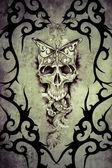 Tattoo art design — Foto de Stock