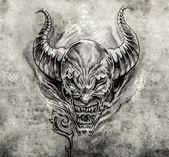 Tattoo art — Stock Photo