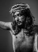 Jesus kristus på korset — Stockfoto