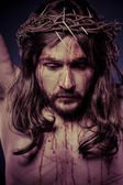 иисус христос на кресте — Стоковое фото