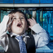 Child dressed businessman suit — Stock Photo #40419341