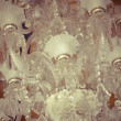 Crystal chandelier. — Stock Photo