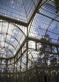 Crystal Palace in Madrid — Stock Photo