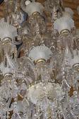 Crystal chandelier. — Stock Photo