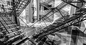 Modernes industrieinterieur — Stockfoto