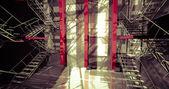 Interior industrial moderna — Foto de Stock