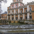 Stock Photo: Palace of Aranjuez