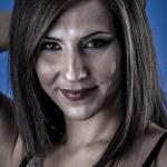 Woman in lingerie in studio — Stock Photo #41040825
