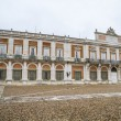 Main facade. Palace of Aranjuez — Stock Photo #41049393