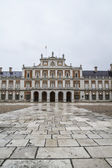 Main facade. Palace of Aranjuez — Stock Photo