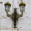 Golden lamps. Palace of Aranjuez — Stock Photo #41051849