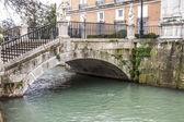 Tajo river, bridge. — Stock Photo