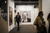 The contemporary art fair ARCO — Stock Photo