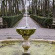 Stock Photo: Fountains of Palace of Aranjuez