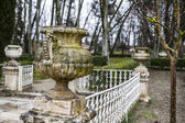 Fountains of the Palace of Aranjuez — Stock Photo