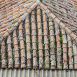 Roof of house — Stock Photo