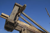 Medieval siege weapons — Stock Photo