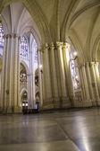 トレドの大聖堂の内部 — ストック写真