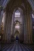 Dentro da Catedral de toledo — Fotografia Stock