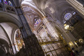 Inside the cathedral of Toledo — Stock Photo