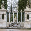 Stock Photo: Ornamental fountains