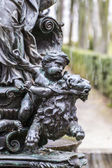 Mythological bronze sculpture. — ストック写真