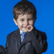 Stock Photo: Cute little boy portrait